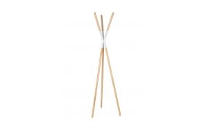 Coat Rack Pinnacle White