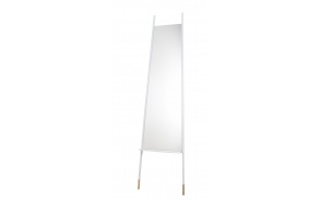 Mirror Leaning White