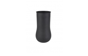Vase Blob Large Black