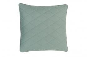 Pillow Diamond Square Minty Green