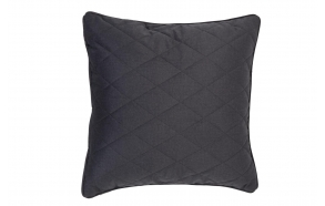 Pillow Diamond Square Pebble Grey