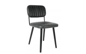 Chair Jake Worn Black