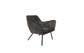 Lounge Chair Bon Dark Grey