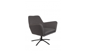 Lounge Chair Knut Dark Grey