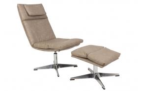 Lounge Chair Chill Set Vintage Beige