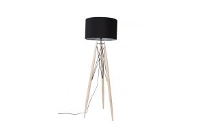 Floor Lamp Eiffel Black