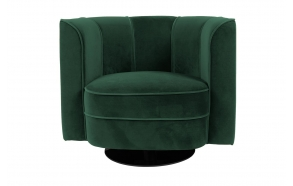 Lounge Chair Flower, green