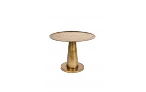 Side Table Brute Brass