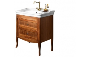 RETRO vanity unit 73x80x46,5 cm, dark beech, basin not included