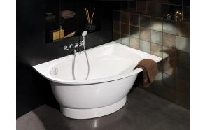 Cast stone bath TRE, right corner