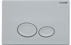 DROP FLUSH PLATE WHITE