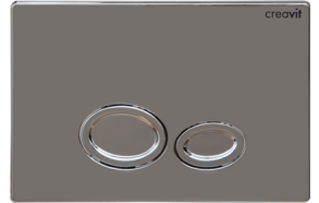 DROP FLUSH PLATE CHROME