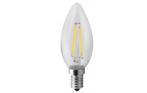 LED bulb Filament 2W, E14, 230V, day white, 160Lm  (4000-5000K)