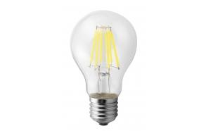 LED bulb Filament 6W, E27, 230V, day white, 800Lm (4000-5000K)
