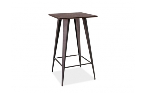 bar table Industrial, wood+metal