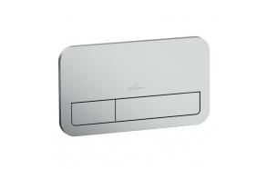 flush plate ViConnect E200 Villeroy&Boch, mat chrome