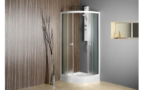 ARLEN Quadrant Shower Enclosure 800x800x1850 mm, glass BRICK
