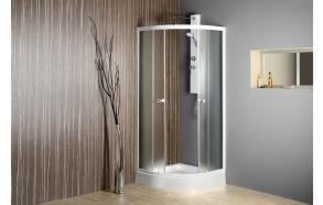 ARLEN Quadrant Shower Enclosure 900x900x1850 mm, glass BRICK