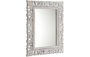Scole mirror with frame,80x120 cm, Silver Antique