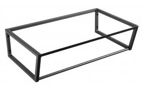 metallist valamukonstruktsioon Ska, 75 cm, matt must