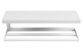 käterätihoidja-riiul Ska, matt valge ja valge MDF