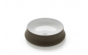 textured ceramic worktop basin Rennes