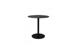Bistro Table Braza Round Black