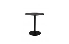 Counter Table Braza Round Black