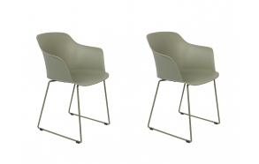 set of 2 armchairs Tango Green