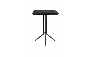 Bar Table Maze Square Black