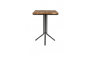 Bar Table Maze Square Natural