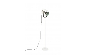Floor Lamp Cage White