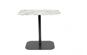 Side Table Snow Marble Rectangle
