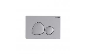 flush plate Spa, mat grey