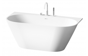 Silkstone bath Deco Wall white