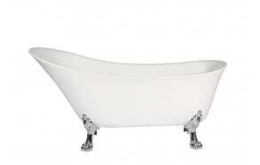 bath Rosanna, chromed feet, siphon not included