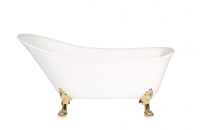 bath Rosanna, golden feet, siphon not included