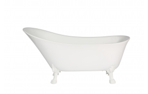 bath Rosanna, white feet, siphon not included
