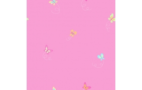 Hoopla Butterfly Sidewall Pink