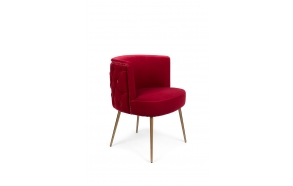 Such A Stud Chair Red