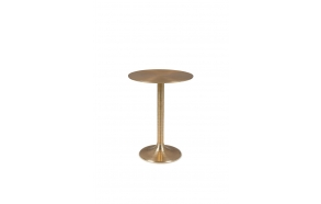 Hypnotising Round Side Table Gold
