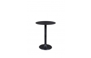 Hypnotising Round Side Table Black