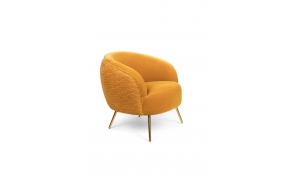 So Curvy Lounge Chair Ochre