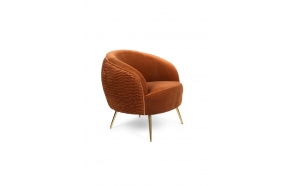 So Curvy Lounge Chair Orange