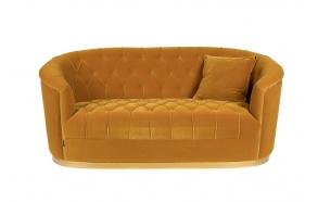 Too Pretty To Sit On Sofa Ochre