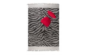 Zebra Friendly Carpet 160X230 Black