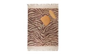 Zebra Friendly Carpet 160X230 Pink