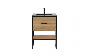 cabinet Manhattan 60 cm, without sink (in 2 boxes)
