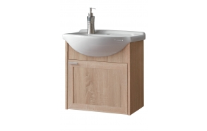 cabinet under washbasin Piano, oak, basin not included