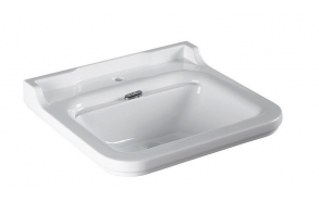 Washbasin Waldorf 80x55 cm,chromed overflow ring included (414101+811390)
